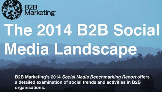Social Media Benchmarking für B2B