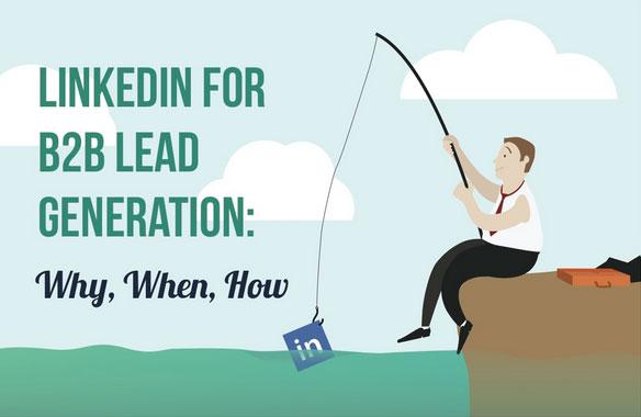LinkedIn generiert Leads für B2B