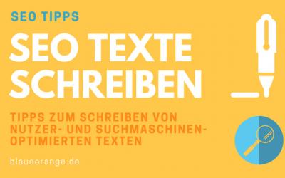 SEO Text schreiben - SEO Tipp