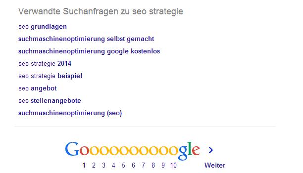 Google longtail keywords