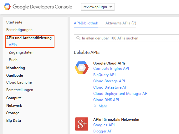 Google Places API