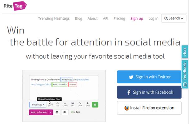Ritetag Social Media Tool
