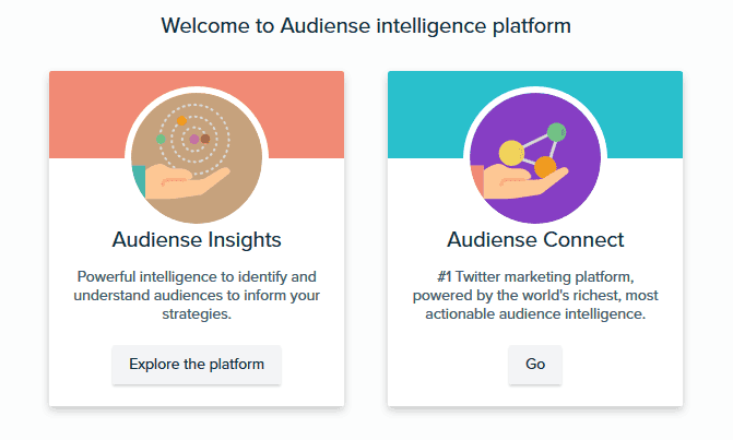 Audiense Social Media Monitoring Tool