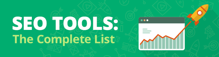 SEO Tools Liste mit Backlink Checker