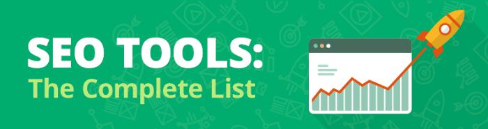 SEO Tools Liste mit Backlink Checker