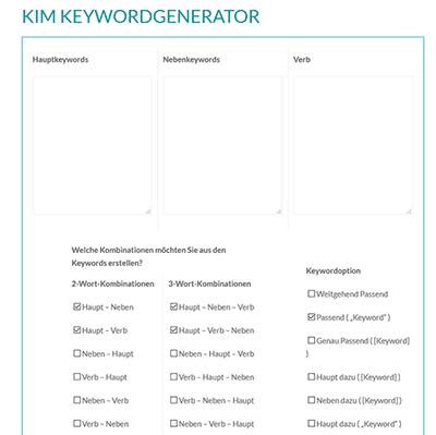 Kim Keywordgenerator