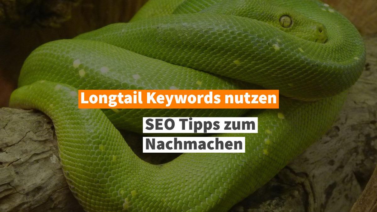 Longtail Keywords SEO Tipp