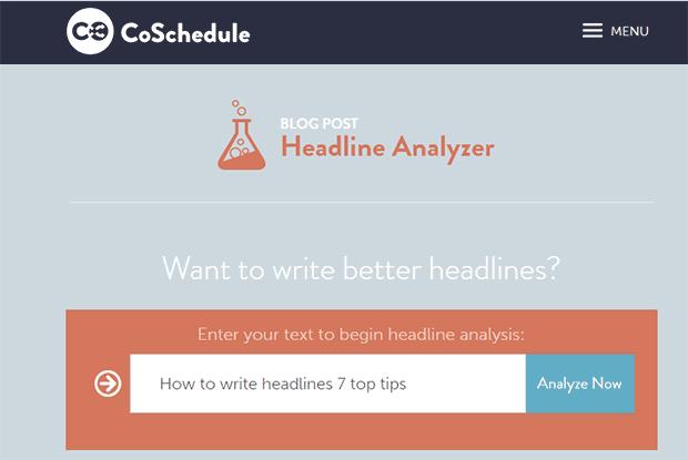 Gute Überschriften schreiben mit Headline Analyzer
