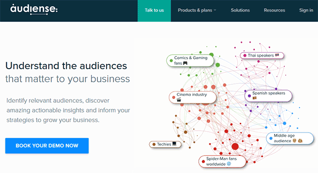 social media tool audiense