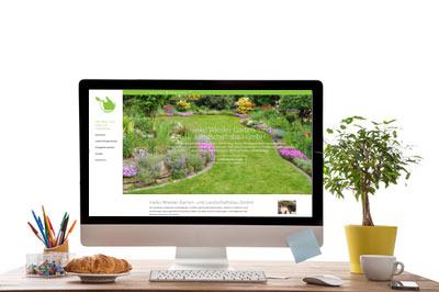 Kunde Webdesign Gartenbau Wiesler