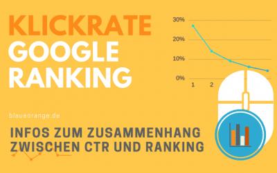 CTR und Google Ranking