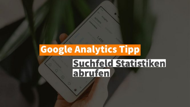 Site Search in Google Analytics