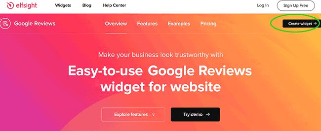 Google Bewertungen mit Widget schnell einbinden