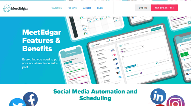 meetedgar social media management