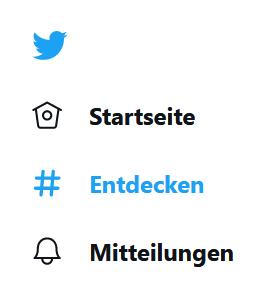 twitter hashtags entdecken