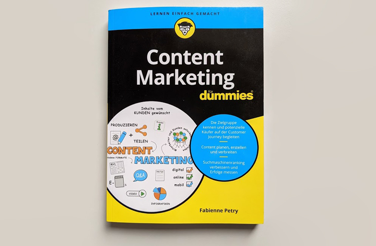 Buch Content Marketing für Dummies