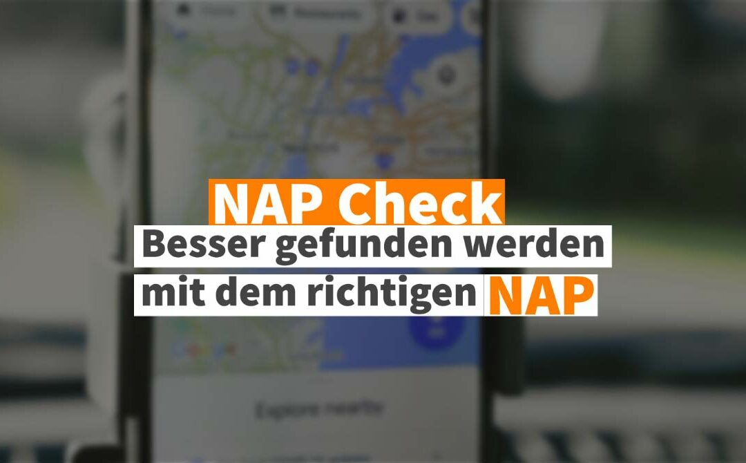 SEO Tipp: NAP Check