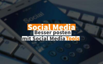Social Media Posts planen und publizieren